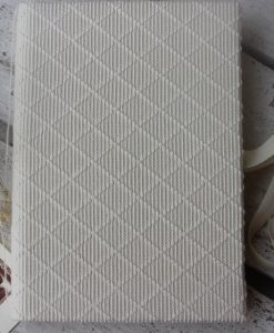 Guestbook in tessuto sardo